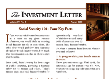 Social Security 101:  Four Key Facts