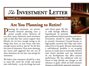 Are You Planning to Retire?