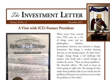 A Visit with ICI's Former President