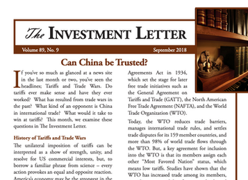 Can China be Trusted?
