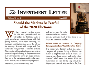 Should the Markets Be Fearful of the 2020 Elections?