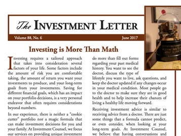 Investing is More Than Math
