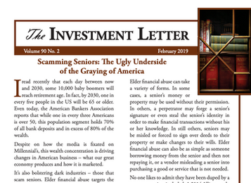 Scamming Seniors: The Ugly Underside of the Graying of America