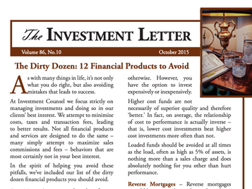 The Dirty Dozen: 12 Financial Products to Avoid
