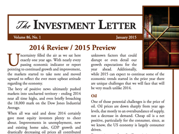 2014 Review / 2015 Preview