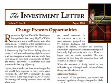 Change Presents Opportunities