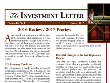 2016 Review / 2017 Preview