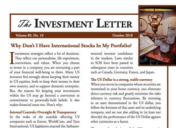 Why Don't I Have International Stocks In My Portfolio?