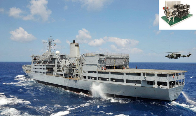 Repeat Order - BWT System for RFA Fort Rosalie