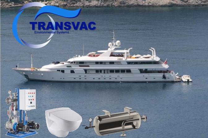 New Evac Vacuum Sanitary System for MY Tacanuya