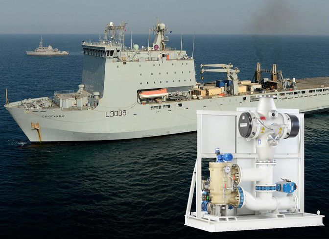 Hyde Gold BWT Sets Selected for Third  RFA LSD(A) Cardigan Bay