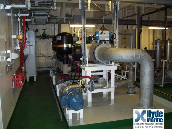 Ballast Water Treatment Sets Commissioned on Lyme Bay