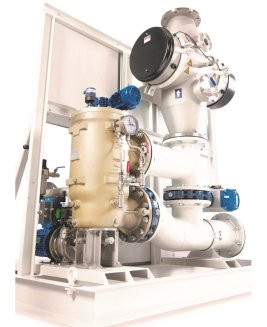 New Ballast Water Treatment Units for RFA Mounts Bay