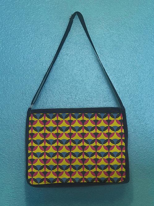Retro Quad Messenger Bag