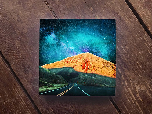 Canyon Stargazer Wood Panel Print