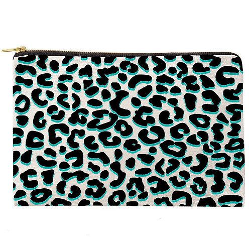Leopard Love Zipper Pouch