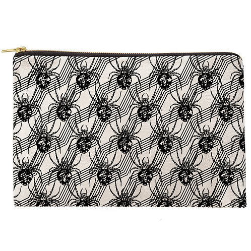 Arachnid Zipper Pouch