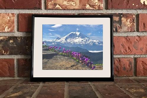 Mt. Rainier - 5x7 Matted Photograph