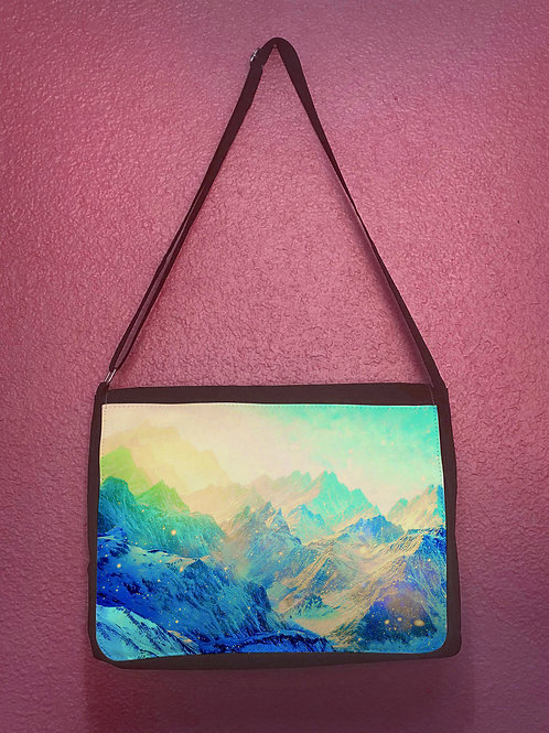 Cosmic Mountain Messenger Bag