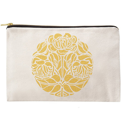 Rose Zipper Pouch
