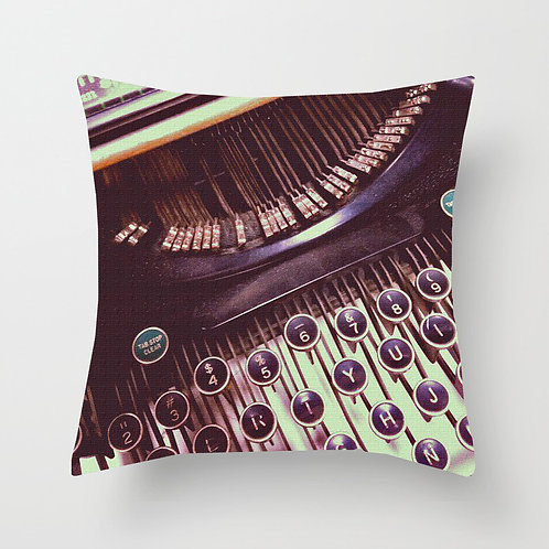 Antique Tuesdays Throw Pillow