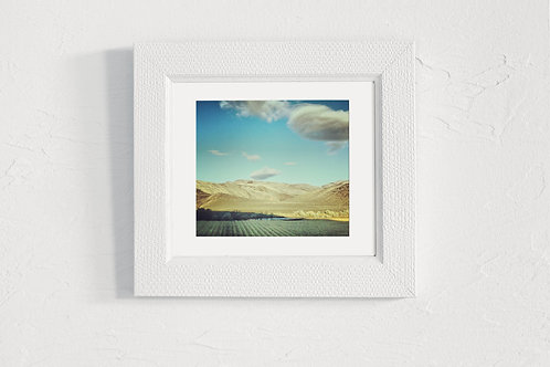 Idaho Where I Am - 5x5 Matted Photograph