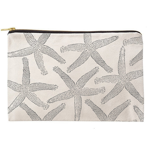 Starfish Zipper Pouch