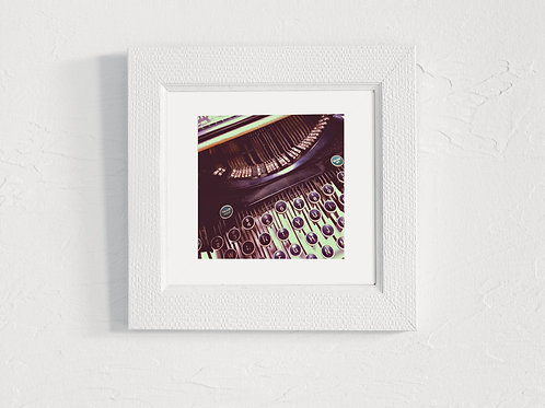 Types of Writers - 5x5 Matted Photograph