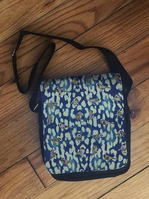 Birdie Mini Messenger Bag (Blue)