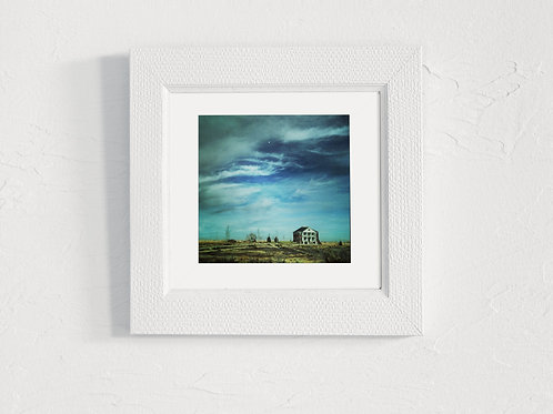 Midwest House - 5x5 Matted Photograph