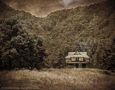 Abandoned Farmhouse, Luck, North Carolina
