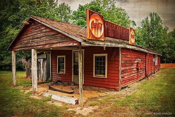 Grand Ole Opry Service Station, Granville County, North Carolina