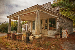 Abandoned Store, Crystal Hill, Virginia