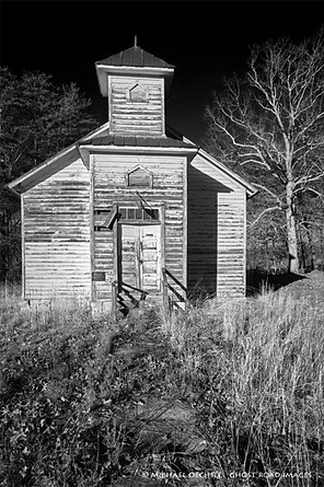 Abandoned Church, Charlotte County, Virginia