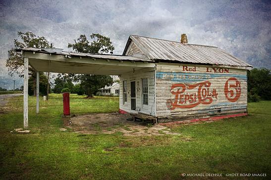"""Red"" Lyon's Store, Greene County, North Carolina"