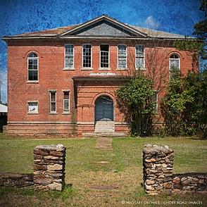 Abandoned School, Wise, North Carolina