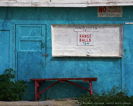 Abandoned Driving Range, Anza Borrego, California