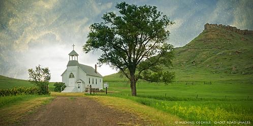 Cave Hills Church, near Buffalo, South Dakota