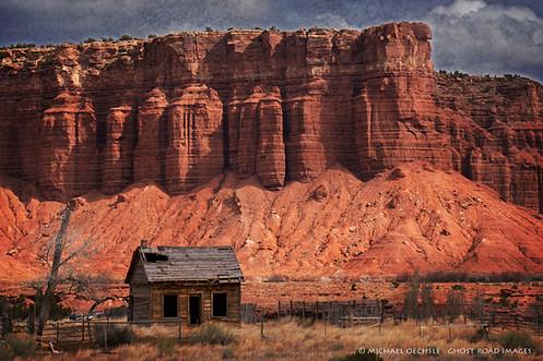 Abandoned Pioneer Cabin, Near Torrey, Utah
