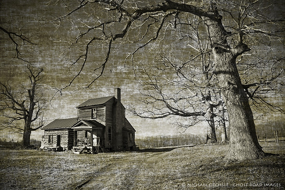 Abandoned Farmhouse, Person County, North Carolina
