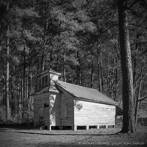 Abandoned Church, Old Ford, North Carolina