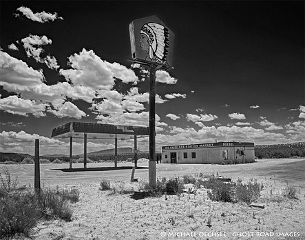 Big Chief Gas Station and Store, Zia Pueblo, New Mexico