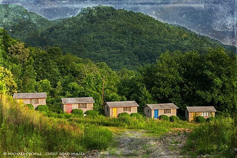 Abandoned Motel Cottages, Maggie Valley, North Carolina