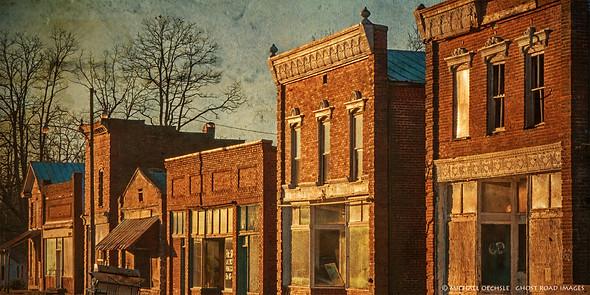 Abandoned Street, Pamplin, Virginia