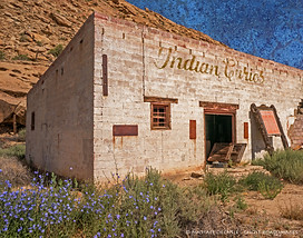 Abandoned Trading Post, Waterflow, New Mexico