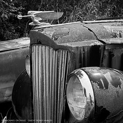 Packard Coupe Detail, Hillsborough, North Carolina