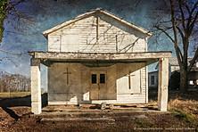 Abandoned Store Turned Abandoned Church, Union Level, Virginia