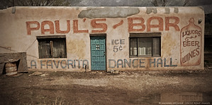 Paul's Bar, Taos, New Mexico