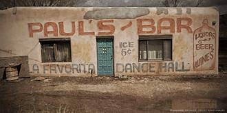 Paul's Bar, Taos, New Mexico