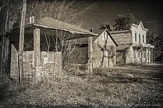 Abandoned Storefronts, Ingram, Virginia
